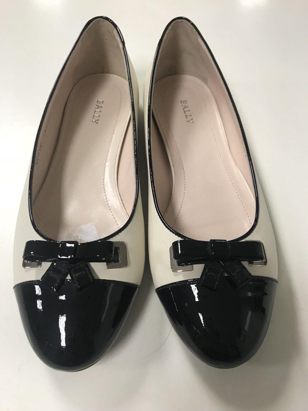 Bally scarpe Ballerine Ballet Flats Donna donna Dimensione 39,5