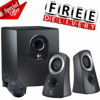 Subwoofer Speaker System Home Audio Stereo Bass Sound Gaming Tv Pc Computer