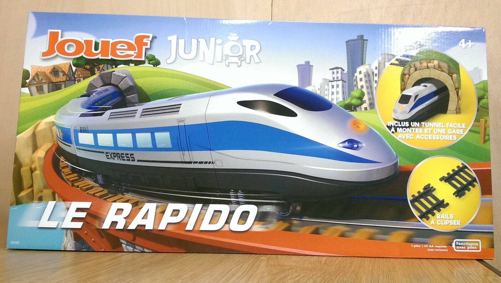 Jouef Junior HJ1501 Le Rapido Battery operated Train Set NEW