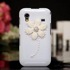Samsung Galaxy ACE S5830 Hard Case Handy Hülle Etui Perlen Strass Steine 3D