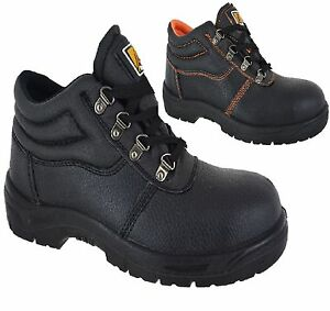 MENS-STEEL-TOE-CAP-BLACK-LEATHER-WORK-BOOTS-SAFETY-LACE-UP-LIGHT-WEIGHT-SHOES-SZ