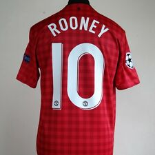 Manchester United Home Football Shirt Adult Medium ROONEY #10 2012/2013