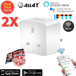 2 aiiat Wireless Wifi Smart zócalo enchufe temporizador control Interruptor...