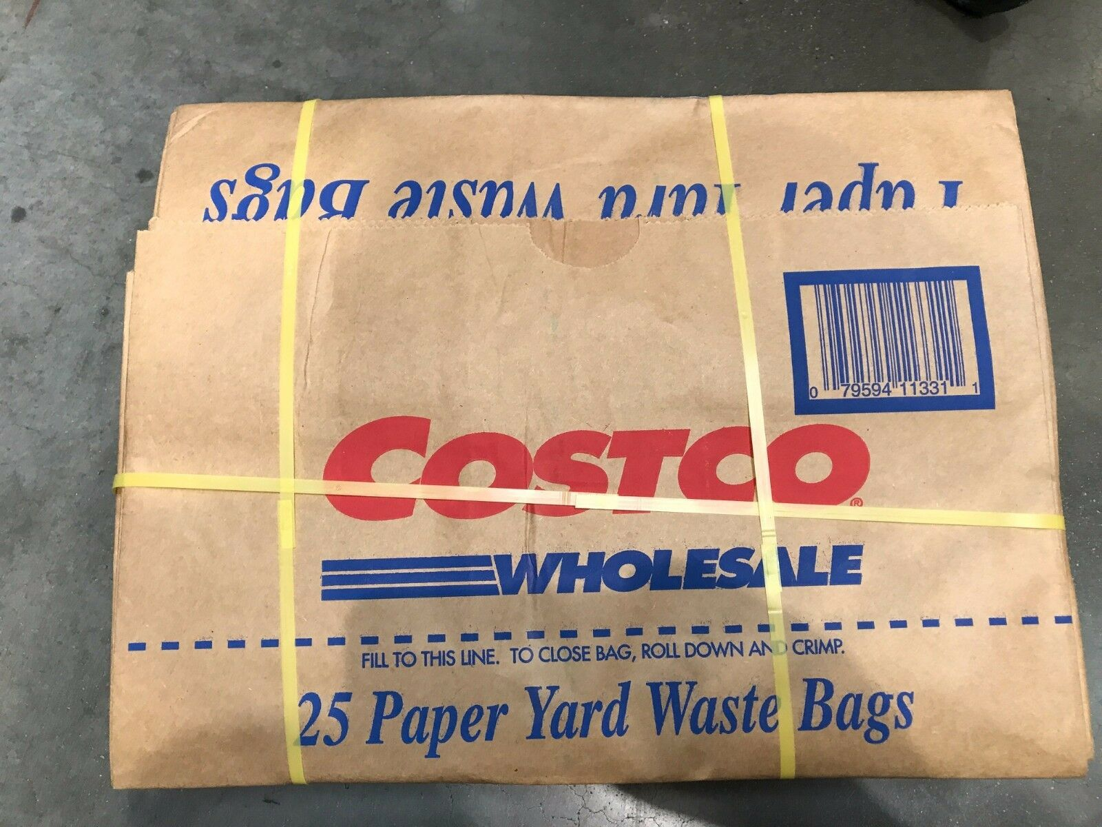 30 Gallon Paper Yard Waste Bags 3 Count