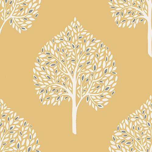FINE DECOR ANNABELLE TREE LEAVES WALLPAPER GREY FD41929 /& YELLOW FD41930