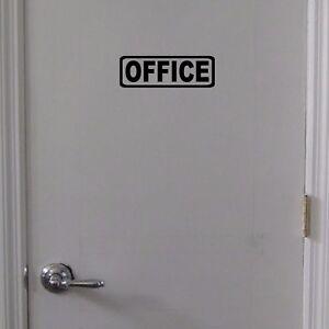OFFICE-Door-Sign-Vinyl-Decal-Door-Window-Wall-Business-Office-Restaurant
