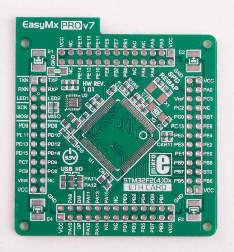 MikroElektronika EasyMx PRO™ v7 for STM32 Empty MCUcard HP ETH 100pin TQFP