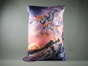 "My Little Pony Rarity Big Pillow Case 58x38cm//23/""x15/"" High Quality  UK Stock"