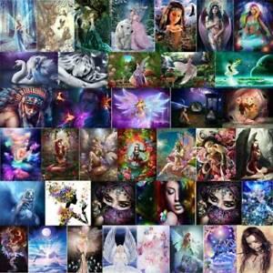 5D-DIY-Fairy-Beauty-Women-Full-Drill-Diamond-Painting-Cross-Stitch-Home-Decor