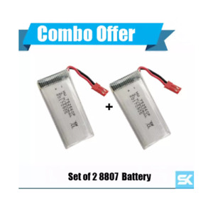SALE! Set of Two: RC DRONE 8807 Quadcopter Drone's Battery