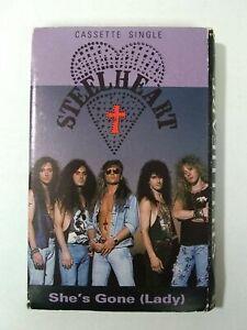 STEELHEART-She-039-s-Gone-Lady-MCACS54167-Single-Cassette-Tape