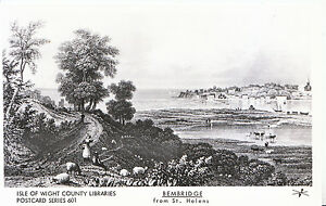 Isle-of-Wight-Postcard-Bembridge-from-St-Helens-X636
