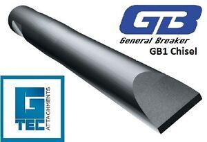 General-Breaker-GB1T-Chisel-Tool-Moil-Rock-Breaker-Hydraulic-Hammer-NEW-GB