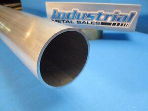 "6061 Aluminum Round Tube 2/"" OD x 1/"" ID x 48/""-Long x 1//2/"" Wall"