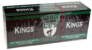 50-Fifty-Gambler-Tube-Cut-Menthol-King-Size-Cigarette-Tubes-200ct-box-RYO