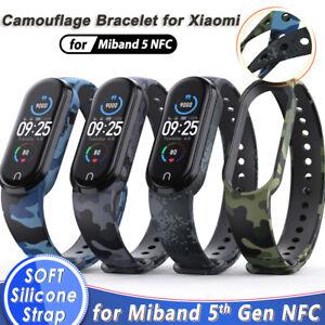 For Xiaomi Mi Band 5 Silicone Soft Wrist Strap Bracelet Replacement Wristband US