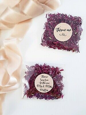biodegradable flower Wedding confetti Throwing pack AUTUMN RANGE