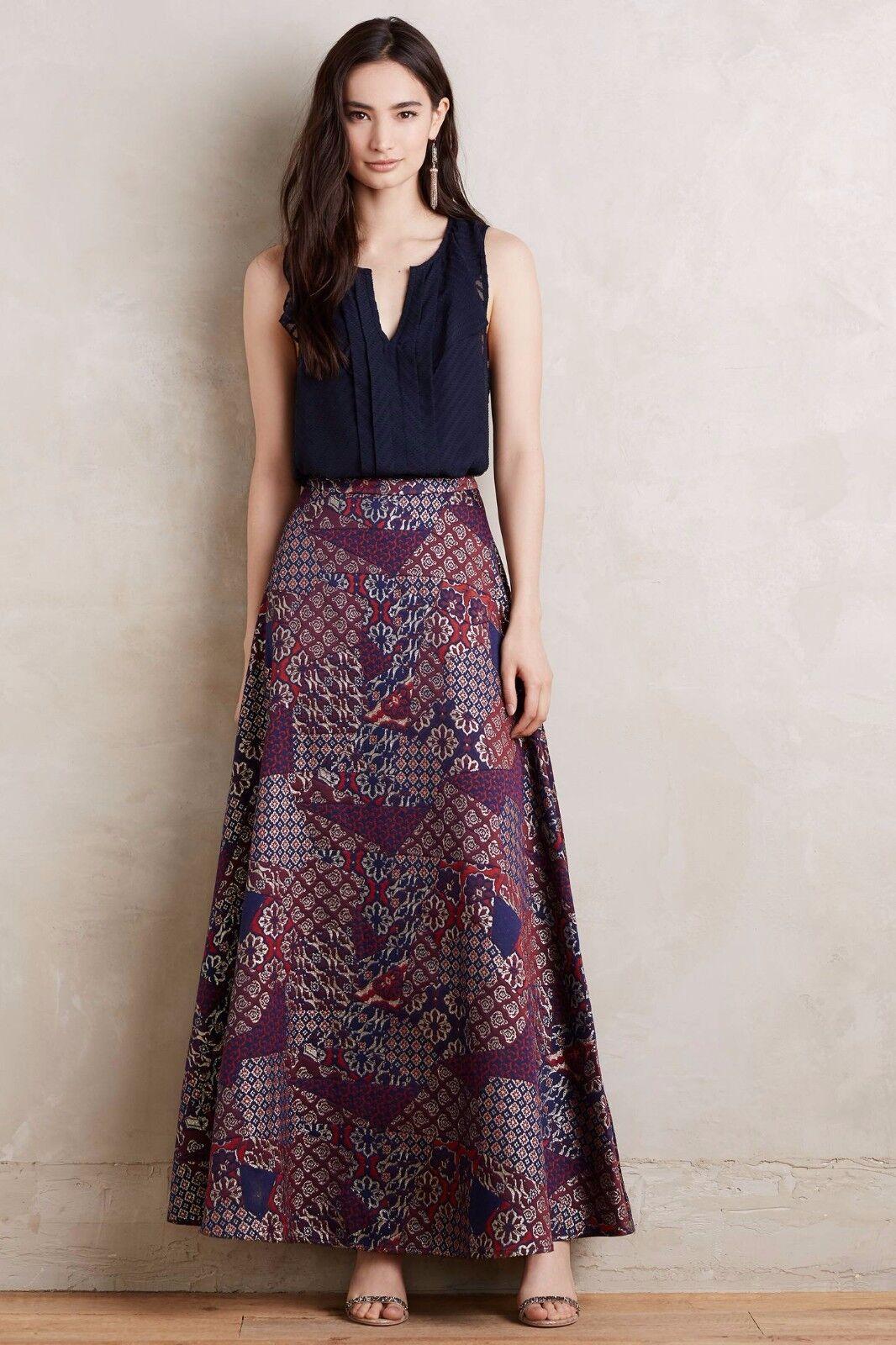 NWT ANTHROPOLOGIE Brocade Ball Skirt by HD in Paris, 4, Elegant,