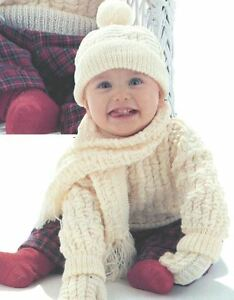 29221c13357e Knitting Pattern Boy s 4 Ply Cable Sweater