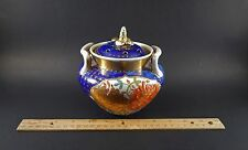 Antique English Japan Imari Porcelain Potpourri Jar Pierced Lid 18th/19th C