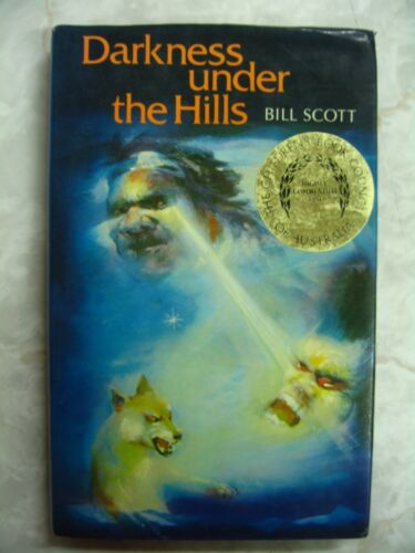 1 of 1 - Darkness under the Hills by Bill Scott Australian Childrens fiction 1981 hcdjB44