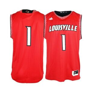 fa4a4fc01 Louisville Cardinals NCAA Adidas Men s Red Iced Out Basketball ...