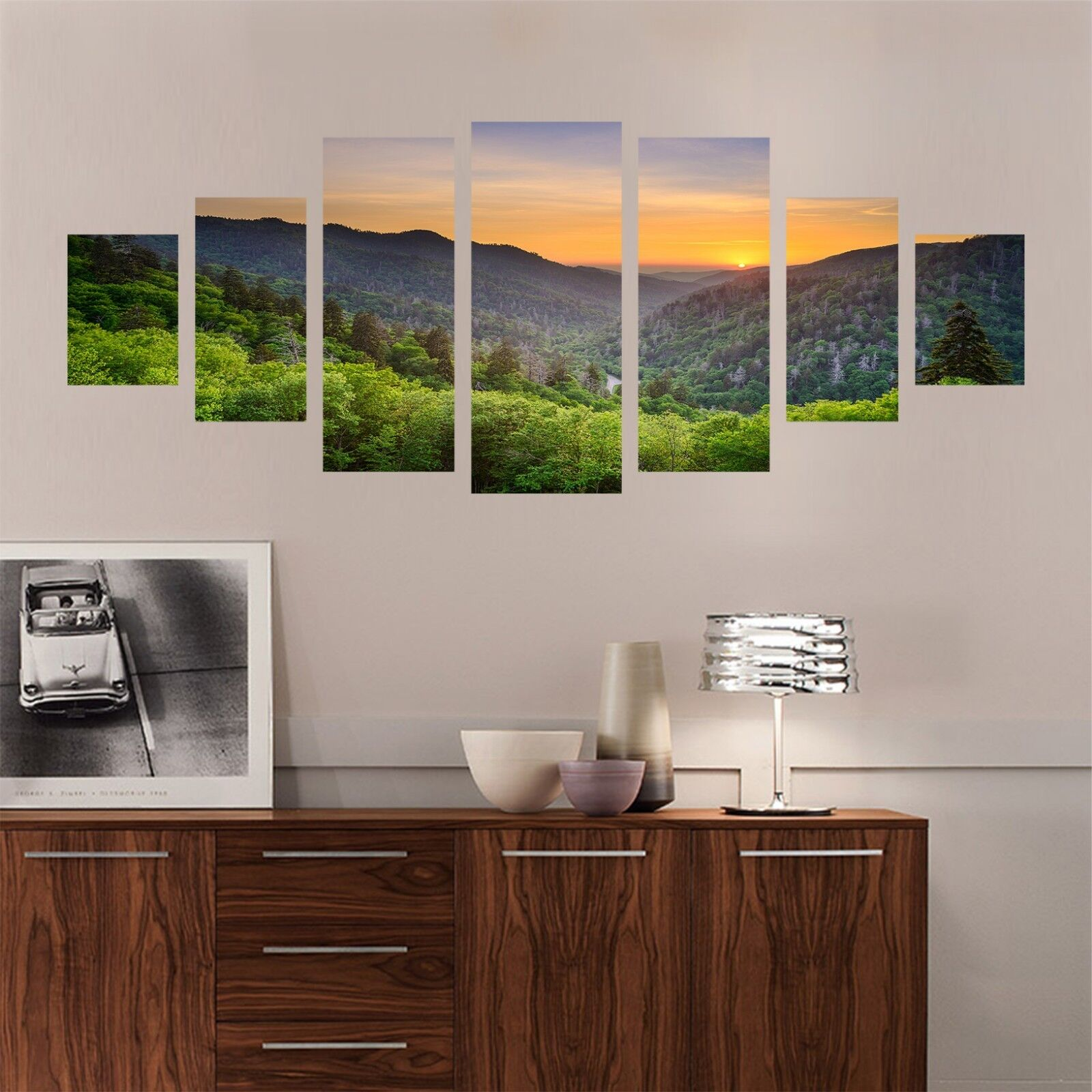 3D Sunrise Hill 557 Unframed Print Wall Paper Decal Wall Deco Indoor AJ Wall