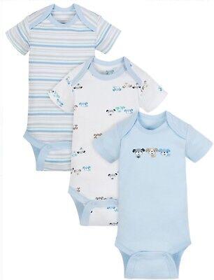 Baby Girl Lot of 5 Onesies Birds 100/% Cotton NWT Gerber  3 6 9 Pink Purple Blue