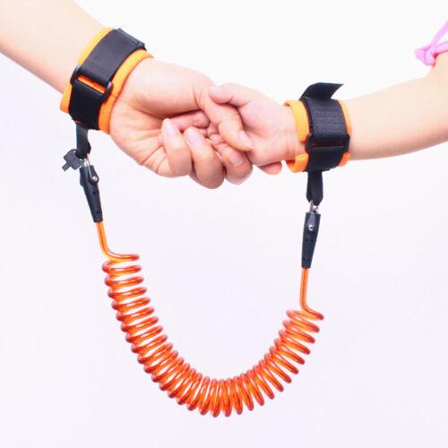 GT KQ/_ Adjustable Kids Safe Harness Children Wrist Leash Anti-lost Belt Band Sa