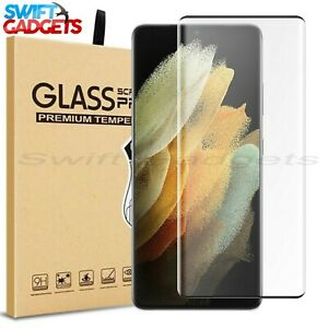For Samsung Galaxy S21 S21 5G Plus Ultra Full Tempered Glass Screen Protector