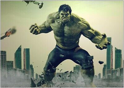 A0 A1 A2 A3 A4 Sizes The Incredible Hulk Giant Poster