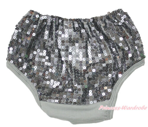 Newborn Infant Baby Bling Sparkle Sequins Bloomer Cotton Pantie 6m-3Year