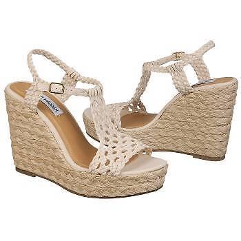 NEW Women's Steve Madden  P-Maui -WAS  70 -size 10.5 Natural-colord Espadrille