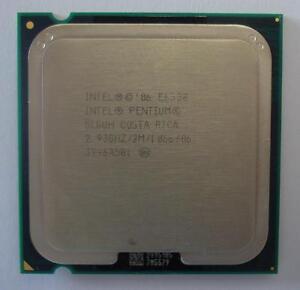 Intel 2 LGA775 E6500 Dual 93GHz Core 1066 Pentium 2M CPU rqXr7Sw