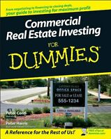 Commercial Real Estate Investing For Dummies By Peter Conti, (paperback), For Du on Sale
