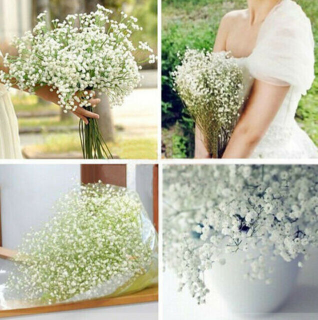 Hot Gypsophila Floral Artificial Fake Silk Flower Plant Home Party Wedding Decor