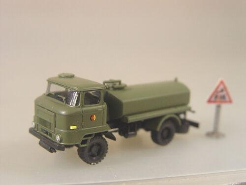 Roco Minitank 1:87-744256 #E Herpa NVA Tanklastwagen IFA L 60