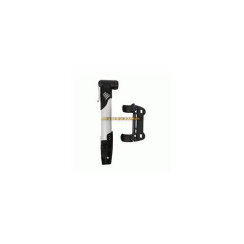 Mini pompe à vélo pour valve Shräder avec support