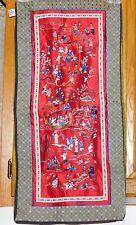100 Children Embroidered Silk Panel