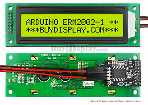 Yellow-IIC-I2C-Serial-Character-20x2-LCD-Display-Module-for-Arduino-w-Library