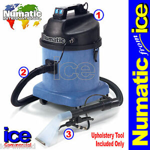 Numatic Car Wash Valet Carpet Seat Upholstery Vacuum Cleaning