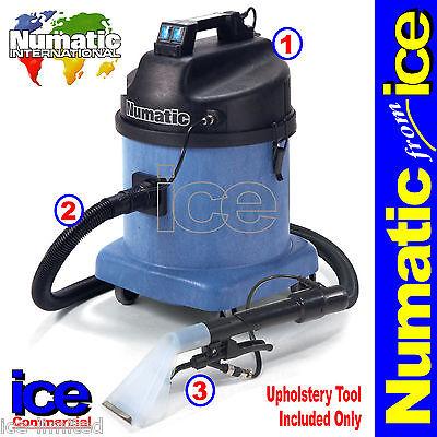 Numatic CTD570-2 Twin Motor Professional Commercial Car Valeting Vacuum Machine