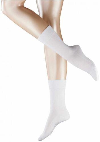 White Falke Womens Sensitive London Socks