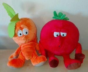 Peluche-coop-de-vitamines-carotte-tomate-superfeschi-Lidl-bonte-Gang-plush