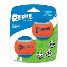Chuckit! Tennis Balls 2 Pack for Small Dogs Durable Rubber Bounce Fetch Toy