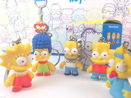 kidrobot Simpsons Keychain Series Simpsons Family Bart Homer Marge Maggie Etc.