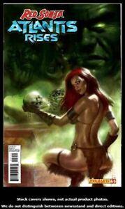 Red-Sonja-Atlantis-Rises-3-Dynamite-2012-FN-1st-Printing-Lucio-Parrillo-Cover