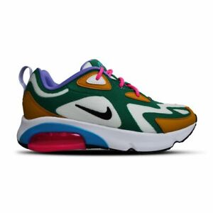 Details about Womens Nike Air Max 200 - AT6175300 - Green White Gold