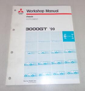 Taller-Manual-Mitsubishi-3000-Gt-Gen2-Chasis-Suplemento-Stand-1999