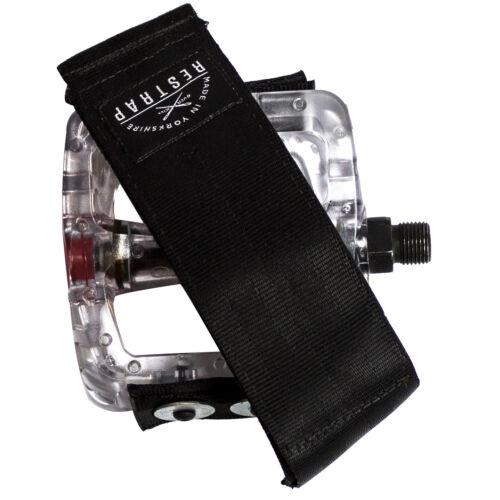 Diagonal Restrap Pedal Straps black